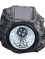 Super-Bright Modern Gardon Decorative Light Waterproof Led Bulb Stone Style Solar Power Resin