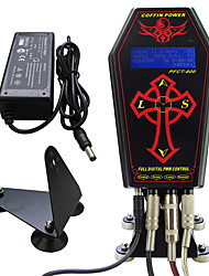 cheap -Professional Tattoo Power Supply Coffin Clock For Tattoo Machine Kit