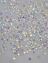 economico -120pcs diy unghie scintillio di strass in cristallo art strumenti borchie decorazioni autoadesivi del chiodo correzione 3d per unghie non