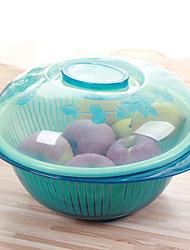 Недорогие -1шт цвет случайных домохозяйство кулинарное окружающей среды фрукты мыть посуду многофункциональный бассейн AAD корзина