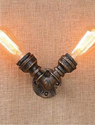 economico -ac 220v-240v 40w e27 bg803-2 nostalgia semplice tubo di acqua luce murale decorativo piccola lampada da parete