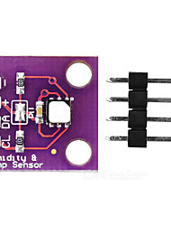 GY-213V-SI7021 Digital Humidity Temperature Sensor Module - Purple