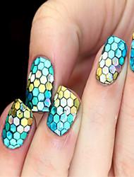 preiswerte -12 Farbenklage Art und Weise sexy Glitzer-Nagel Nägel Farbe und Glanz ist persistent 12pcs / set