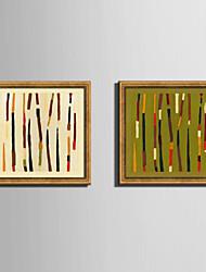 Fantasia Tele con cornice / Set con cornice Wall Art,PVC Materiale Oro Senza passepartout con cornice For Decorazioni per la casacornice