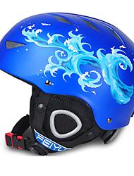 Недорогие -FEIYU Лыжный шлем Муж. Жен. Детские Универсальные Снежные виды спорта Регулируется Спорт Молодежный CE EN 1077