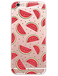 Per iPhone X iPhone 8 iPhone 7 iPhone 6 Custodia iPhone 5 Custodie cover Ultra sottile Traslucido Custodia posteriore Custodia Cartoni