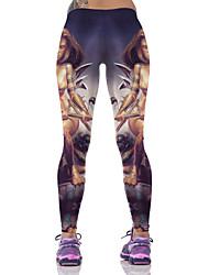 Women's Running Tights Running Baselayer Gym Leggings Breathable Comfortable Bottoms for Yoga Exercise & Fitness Running Cotton Slim