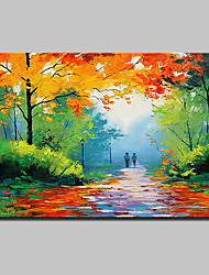 cheap -Hand Painted Modern Abstract Landscape Oil Paintings On Canvas Wall Art Pictures For Home Decoration Ready To Hang