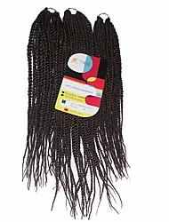 Senegal 100% kanekalon Twist pletenice Pletenice 81 Strands