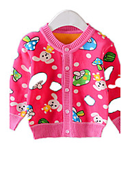 Children's Casual/Daily Print Down & Cotton PaddedCotton Winter Orange / Pink / Red