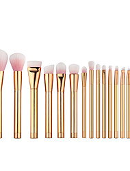 cheap -15pcs Makeup Brushes Professional Makeup Brush Set / Blush Brush / Eyeshadow Brush Nylon / Nylon Brush Portable / Travel / Eco-friendly