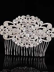 Vintage Rhinestone/Crystal/Diamomd Wedding Hair Comb For Bridal Party