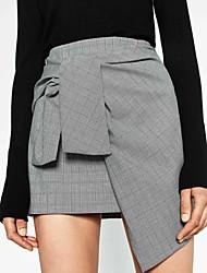preiswerte -Damen Stifte Röcke - Verziert, Mehrschichtig