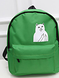 Women Bags All Seasons Canvas Backpack for Casual Black Purple Green Blue