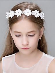 cheap -Crystal Imitation Pearl Agate Cubic Zirconia Lace Rhinestone Polyester Organza Foam Tiaras Headbands Flowers Head Chain Wreaths Hair Clip
