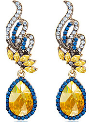 May Polly Diamond shining gem crystal drops and Fashion Earrings