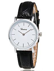 cheap -Women's Quartz Wrist Watch Fashion Watch Casual Watch / Hot Sale PU Band Casual Cool Black Brown