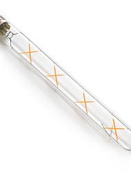 7W E26/E27 Lampadine LED a incandescenza T 8 leds COB 720lm Bianco caldo 2300K Impermeabile