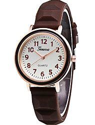 cheap -Women's Fashion Quartz Casual Watch Simple Silicone Belt Round Alloy Dial Watch Cool Watch Unique Watch(Assorted color)