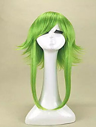 cheap -Top Quality  Anime VOCALOID GUMI Camellia Megpoid Anti Alice Cosplay Wigs Green Heat Resistant Wig