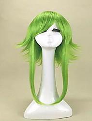 economico -Donna Parrucche sintetiche Senza tappo Medio Lisci Biondo Blu Verde Parrucca Cosplay Parrucca di Halloween Parrucca di carnevale costumi