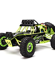 cheap -RC Car WL Toys 12428 2.4G 4WD High Speed Drift Car Off Road Car Rock Climbing Car Buggy (Off-road) 1:12 Brush Electric 50km/h KM/H Remote