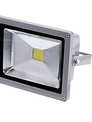 Недорогие -20w привело прожектор заливающего света 1800 лм холодный белый легко установить / водонепроницаемый AC 85-265 v 1 шт