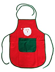 não-tecidos papai noel tamanho avental livre para o aniversário / dia de natal