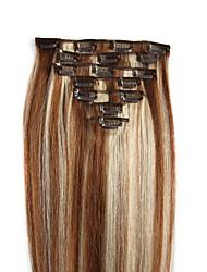 economico -Estensioni dei capelli umani Capelli 100 14-24 Extension per capelli