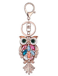 Europe And The United States New Realistic Guitar Key Chain Owl Key Chain Bag Car Key Pendant Valentine's Day Gift Factory Direct Sales