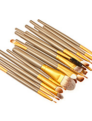 cheap -20 Makeup Brushes Professional Makeup Brush Set Synthetic Hair Portable / Professional Wood