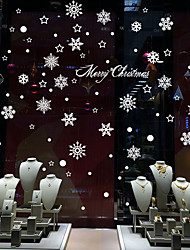 Christmas / Romance / Holiday Wall Stickers Plane Wall Stickers / Mirror Wall Stickers Decorative Wall StickersPVC