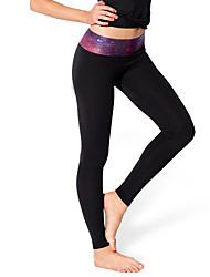 Women Solid Color Legging,Polyester Spandex