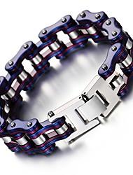 cheap -Kalen New Unisex Bike Chain Bracelet Cool Biker Bicycle Chain Men's Bracelet Fashion 316L Stainless Steel Hand Chains