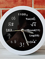 cheap -Polytechnic Mathematical Math Equations Desk Clock Desk Alarm Clock Table Clock Creative Home Decorative Fashion Mute Watches