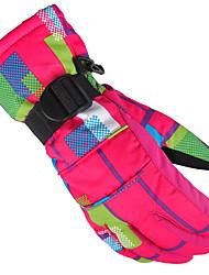 лыжные перчатки Зимние / Спортивные перчатки Жен. / Муж. / Все Спортивные перчаткиСохраняет тепло / Анти-скольжение / Водонепроницаемый /