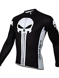 cheap -Sports Cycling Jersey Men's Long Sleeve BikeBreathable  Quick Dry Windproof  Anatomic Design Ultraviolet Resistant  Dust Proof