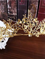 abordables -imitación perla rhinestone aleación tiaras headpiece estilo elegante