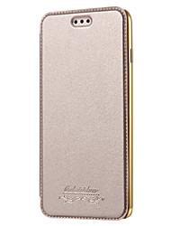 Недорогие -Кейс для Назначение Apple iPhone 8 iPhone 8 Plus Кейс для iPhone 5 iPhone 6 iPhone 7 Бумажник для карт Покрытие Чехол Сплошной цвет
