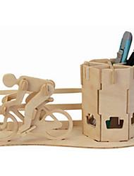 Modellini di legno Macchine giocattolo Giocattoli Edificio famoso Bicicletta Livello professionale Da ragazzo Da ragazza 1 Pezzi