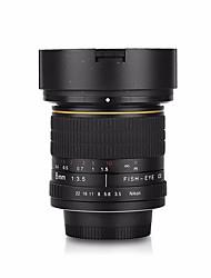 modernizate versiune 8mm f / 3.5 lentile asferice pentru ochi de pește circular nikon D7100 D5000 D800 D5000 D90 D600 D40