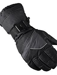 cheap -Ski Gloves Men's Women's Keep Warm Waterproof Windproof Anatomic Design Breathable Snowproof Fleece Cotton Nylon Ski / Snowboard Cycling