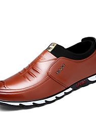 Masculino sapatos Courino Primavera Verão Outono Inverno Conforto Mocassins e Slip-Ons Para Casual Preto Marron Azul marinho