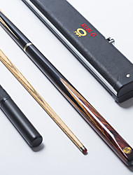 economico -Cue Sticks & Accessori Snooker English Biliardo Tre quarti due pezzi Cue Legno
