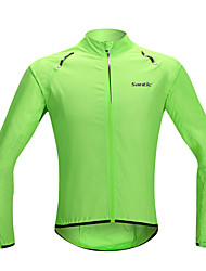 SANTIC Cycling Jacket Men's Women's Unisex Bike Jacket Raincoat/Poncho Sun Protection Clothing Waterproof Quick Dry Windproof Rain-Proof