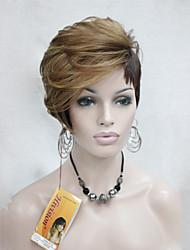 levne -Syntetické paruky Volný Hustota Bez krytky Dámské Blonďatá Přírodní paruka Umělé vlasy