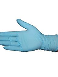 Einweg-blau Nitril Latex-Handschuhe Größe m (1-Boxen von 100 (50 Paare))