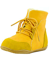 Kid's Shoes Libo New Style Hot Sale Casual / Outdoors Comfort Fashion Warm Snow Boots Yellow / Black / Almond