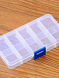 Storage Box Convenient To Carry JewelleryBox Transparency Plastic