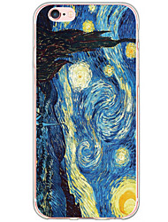 cheap -Case For Apple iPhone 5 Case iPhone 6 iPhone 6 Plus Pattern Back Cover sky Scenery Hard TPU for iPhone 6s Plus iPhone 6s iPhone 6 Plus